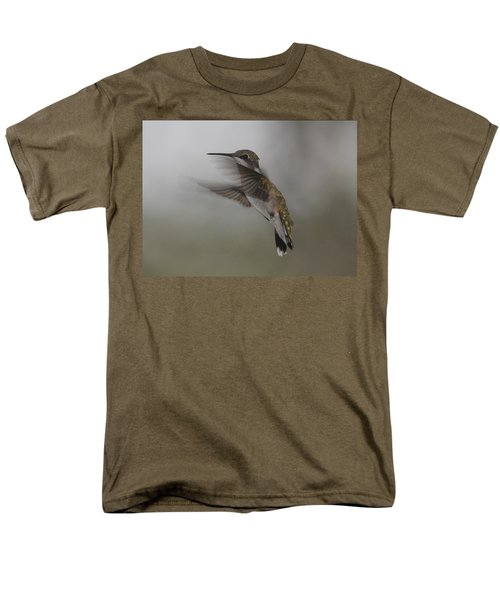 Men's T-Shirt  (Regular Fit) featuring the photograph Hummingbird 6 by Leticia Latocki