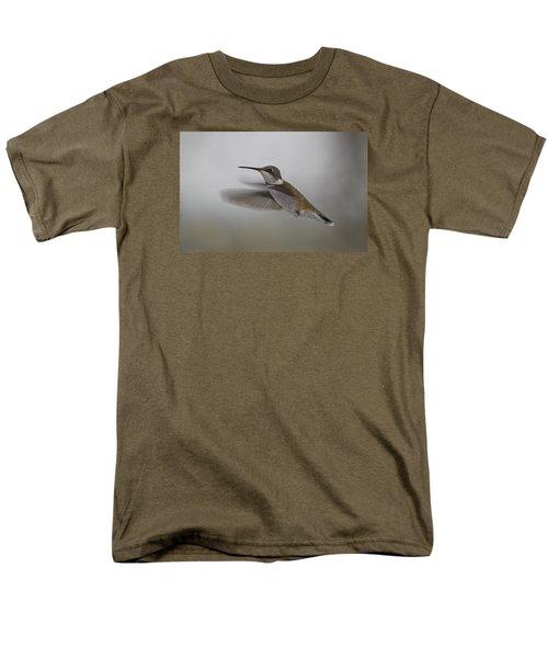 Men's T-Shirt  (Regular Fit) featuring the photograph Hummingbird  by Leticia Latocki