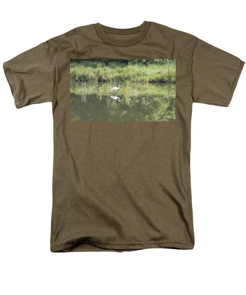 Hunter Reflected 1 Men's T-Shirt  (Regular Fit) by Mark Minier