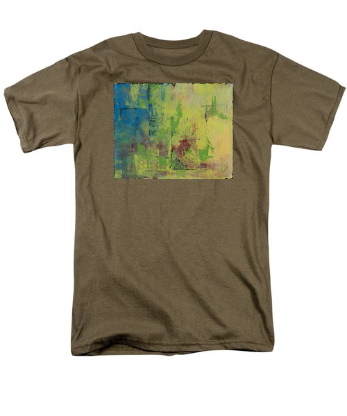 Curious Yellow Men's T-Shirt  (Regular Fit) by Lee Beuther