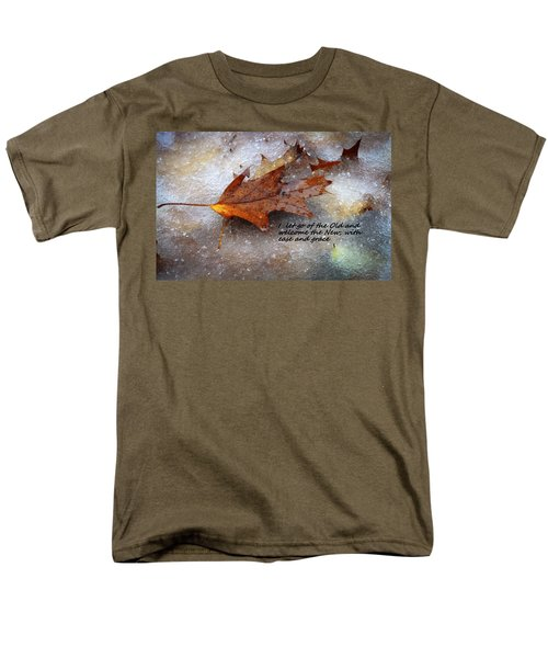 Men's T-Shirt  (Regular Fit) featuring the photograph I Let Go by Patrice Zinck
