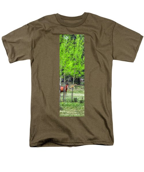 I See You 6172 Men's T-Shirt  (Regular Fit) by Jerry Sodorff