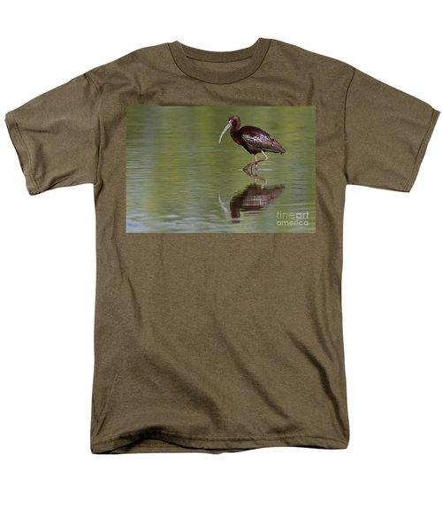 Ibis Reflection Men's T-Shirt  (Regular Fit) by Bryan Keil