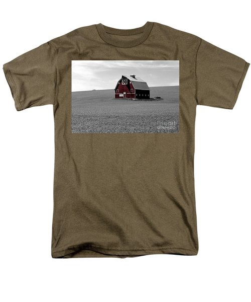 Men's T-Shirt  (Regular Fit) featuring the photograph Icon Of The Palouse by Sharon Elliott
