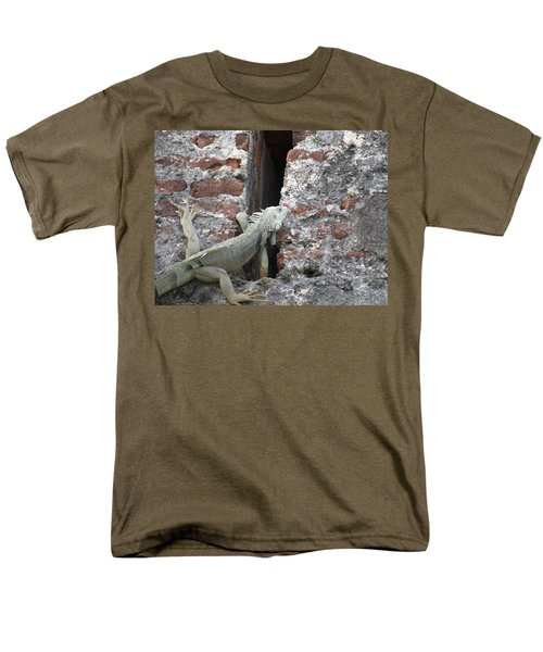 Men's T-Shirt  (Regular Fit) featuring the photograph Iguana by David S Reynolds