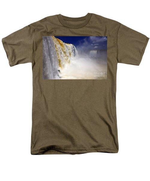 Iguazu Falls I Men's T-Shirt  (Regular Fit) by Bernardo Galmarini