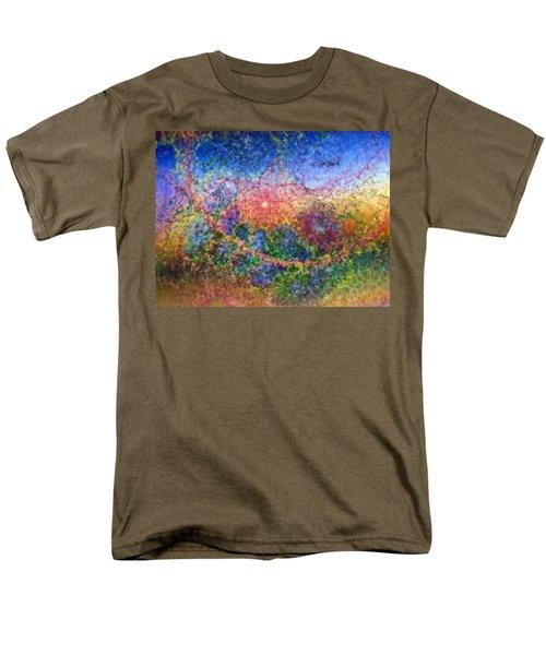 Men's T-Shirt  (Regular Fit) featuring the digital art Impressionist Dreams 1 by Casey Kotas