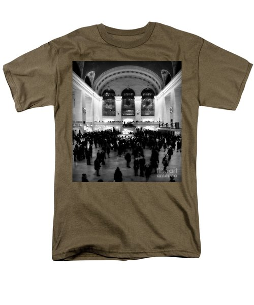 In Awe At Grand Central Men's T-Shirt  (Regular Fit) by James Aiken