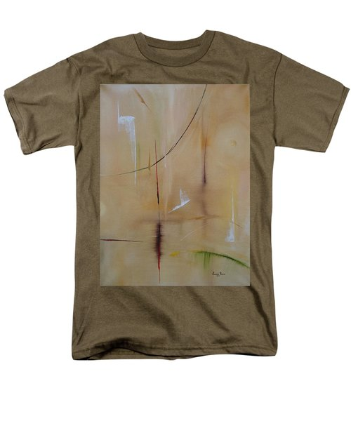 Men's T-Shirt  (Regular Fit) featuring the painting In Pursuit Of Youth by Judith Rhue