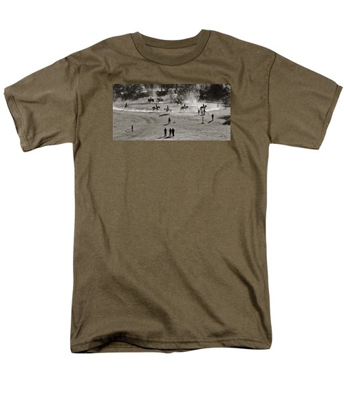 Men's T-Shirt  (Regular Fit) featuring the photograph In The Warm Up by Joan Davis