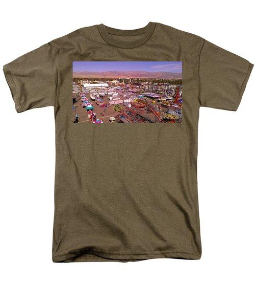 Indio Fair Grounds Men's T-Shirt  (Regular Fit) by Chris Tarpening