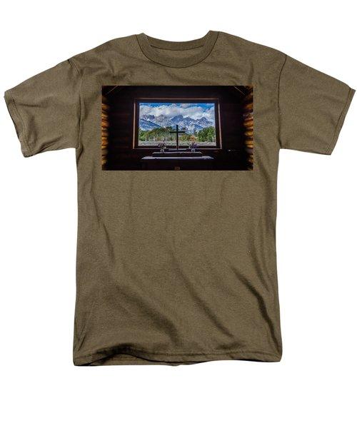 Inside Looking Out Men's T-Shirt  (Regular Fit) by Debra Martz