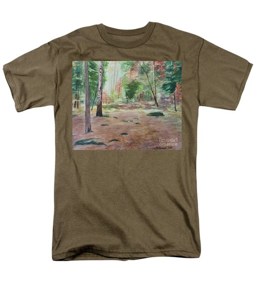 Into The Forest Men's T-Shirt  (Regular Fit) by Martin Howard