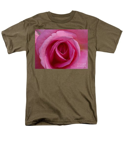 Inviting Pink Men's T-Shirt  (Regular Fit) by Paul  Wilford