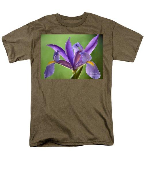 Iris Elegance Men's T-Shirt  (Regular Fit) by Deb Halloran