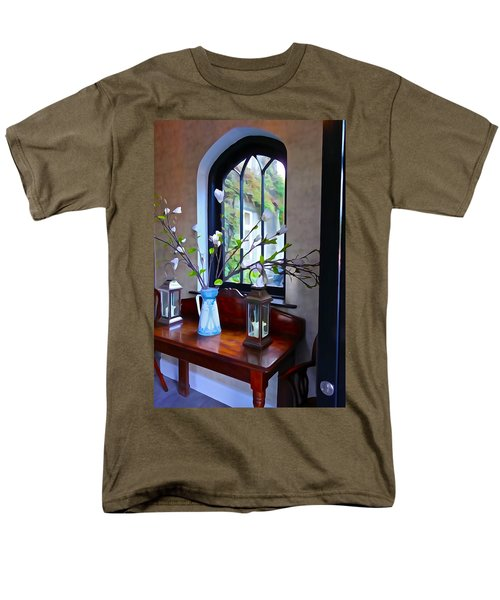 Men's T-Shirt  (Regular Fit) featuring the photograph Irish Elegance by Charlie and Norma Brock