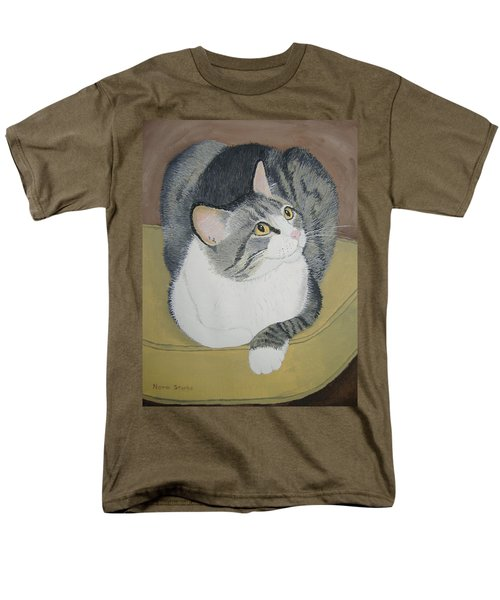 Men's T-Shirt  (Regular Fit) featuring the painting Is Dinner Ready by Norm Starks