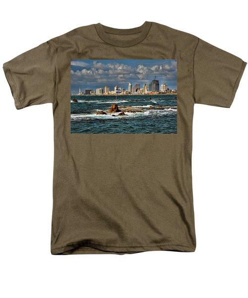 Israel Full Power Men's T-Shirt  (Regular Fit) by Ron Shoshani