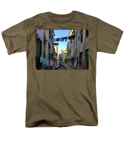 Italian Clotheslines Men's T-Shirt  (Regular Fit) by Natalie Ortiz