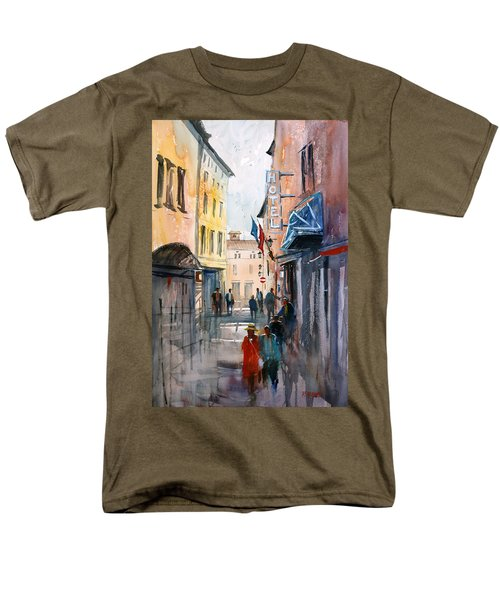 Italian Impressions 3 Men's T-Shirt  (Regular Fit) by Ryan Radke