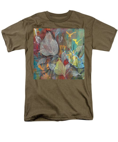 Men's T-Shirt  (Regular Fit) featuring the painting It's Electric by Robin Maria Pedrero