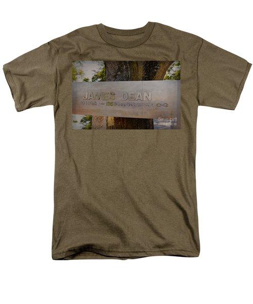 James Dean James Dean Men's T-Shirt  (Regular Fit) by Janice Rae Pariza