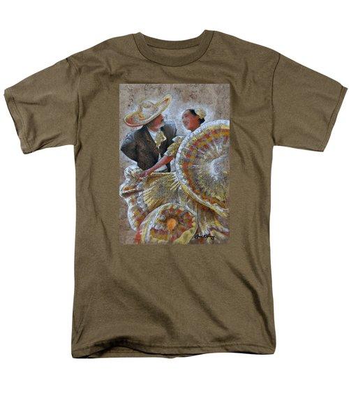 Jarabe Tapatio Dance Men's T-Shirt  (Regular Fit) by J- J- Espinoza