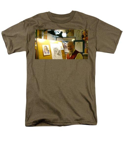 Men's T-Shirt  (Regular Fit) featuring the photograph John D Benson by Charles Kraus