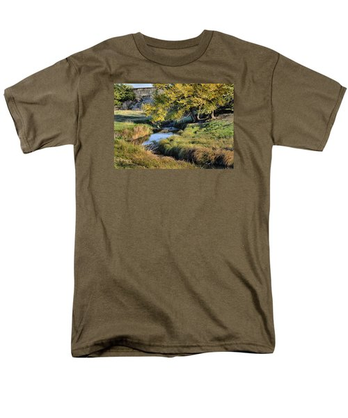 Jordan Creek Autumn Men's T-Shirt  (Regular Fit) by Bruce Morrison