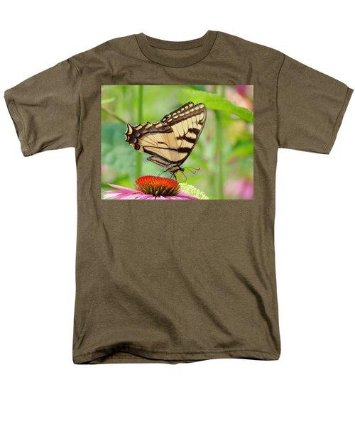July Swallowtail Men's T-Shirt  (Regular Fit) by MTBobbins Photography