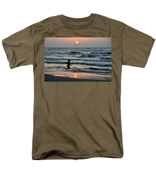 Jumping For Joy Men's T-Shirt  (Regular Fit) by Debra Martz