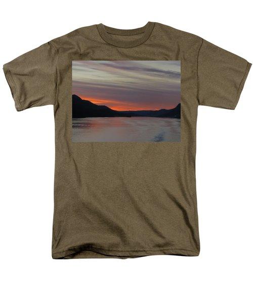 Men's T-Shirt  (Regular Fit) featuring the photograph Juneau Alaska by Jennifer Wheatley Wolf