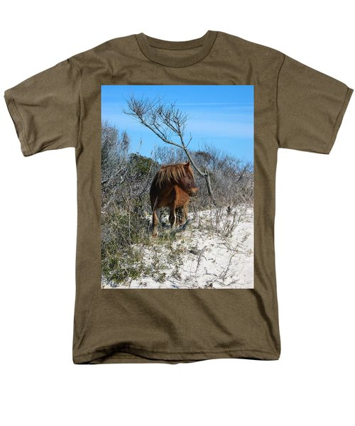 Men's T-Shirt  (Regular Fit) featuring the photograph Just Another Day At The Beach by Photographic Arts And Design Studio
