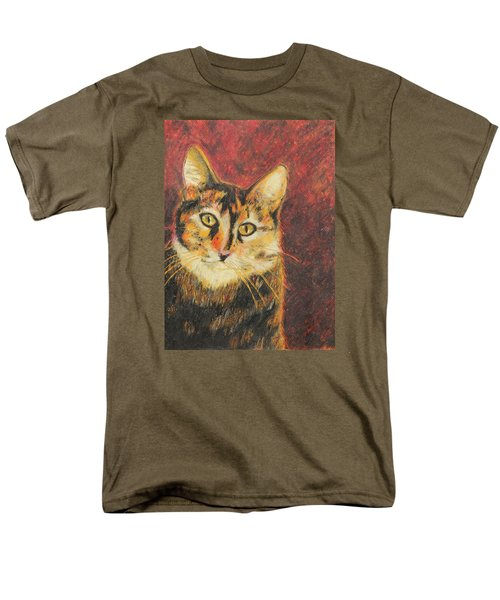 Men's T-Shirt  (Regular Fit) featuring the painting Kaco by Jeanne Fischer