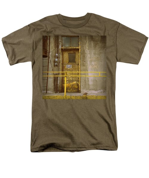 Men's T-Shirt  (Regular Fit) featuring the photograph Keep Door Closed by Joseph Skompski