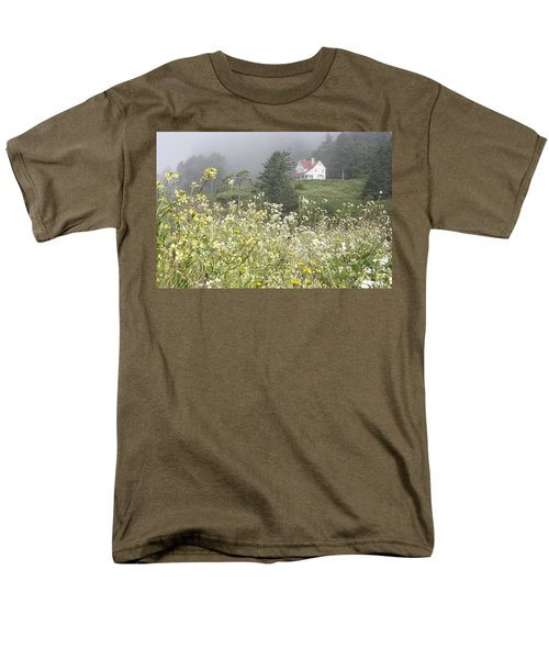 Men's T-Shirt  (Regular Fit) featuring the photograph Keepers House by Laddie Halupa
