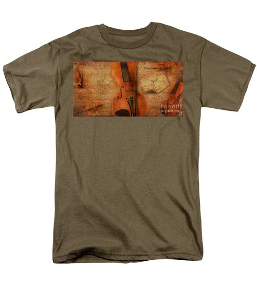 Key To The Soul Men's T-Shirt  (Regular Fit) by Erika Weber