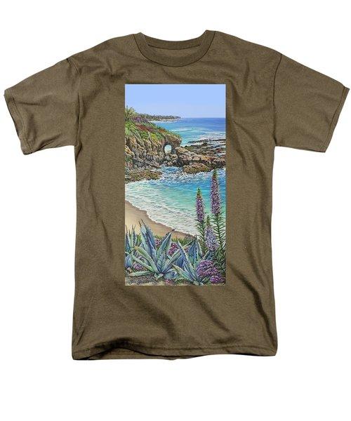 Keyhole Rock Laguna Men's T-Shirt  (Regular Fit)