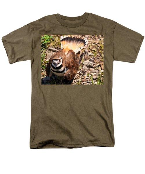 Killdeer On Its Nest Men's T-Shirt  (Regular Fit) by Chris Flees
