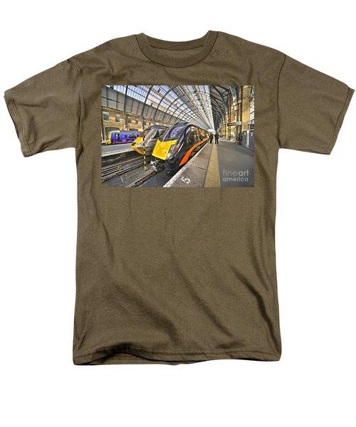Kings Cross Variety  Men's T-Shirt  (Regular Fit) by Rob Hawkins