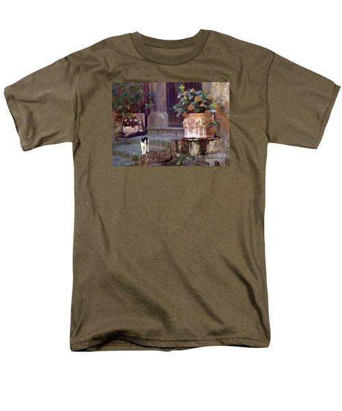 Kitten Italiano Men's T-Shirt  (Regular Fit) by Barbie Corbett-Newmin