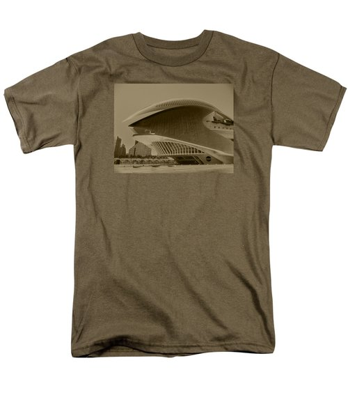 Men's T-Shirt  (Regular Fit) featuring the photograph L' Hemisferic - Valencia by Juergen Weiss