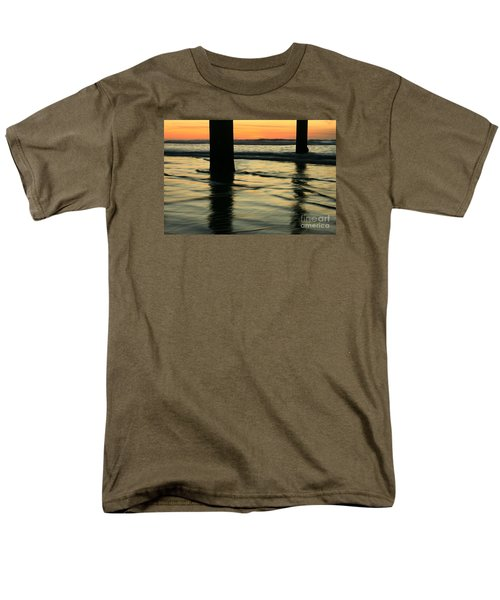 Men's T-Shirt  (Regular Fit) featuring the photograph La Jolla Shores Sunset by John F Tsumas