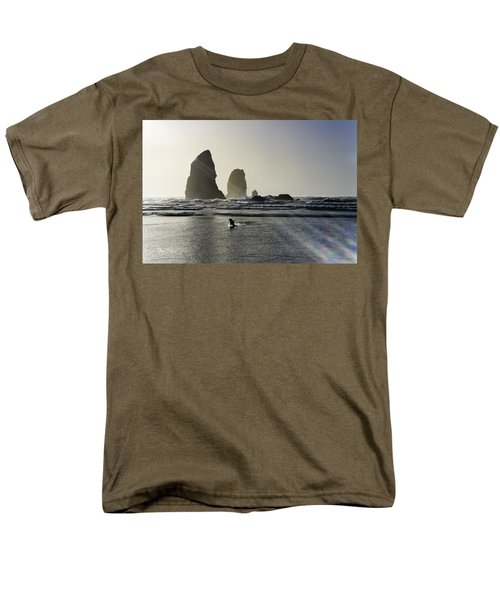 Lady Jessica Of The Great Northwest Men's T-Shirt  (Regular Fit) by Susan Molnar