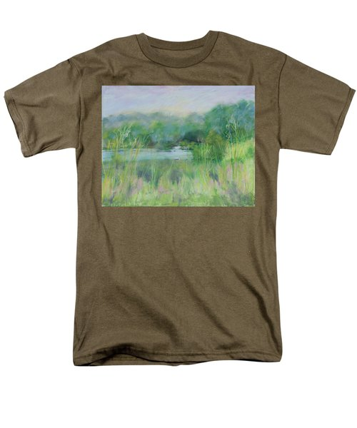 Lake Isaac Impressions Men's T-Shirt  (Regular Fit) by Lee Beuther