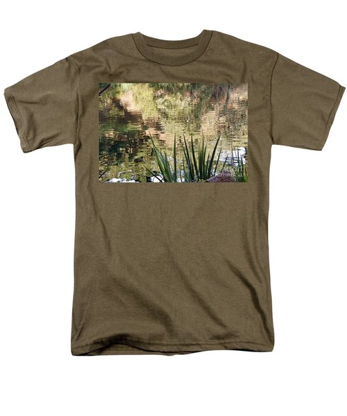Men's T-Shirt  (Regular Fit) featuring the photograph Lake Reflections by Kate Brown