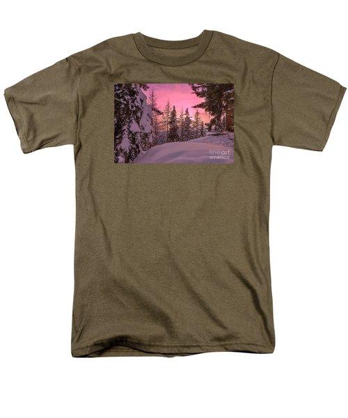 Lapland Sunset Men's T-Shirt  (Regular Fit)