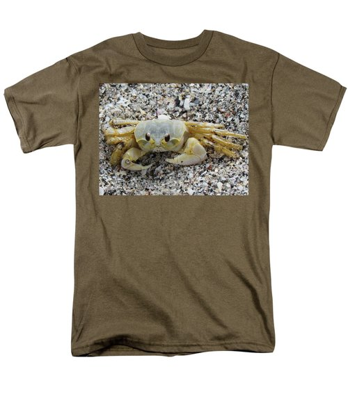 Men's T-Shirt  (Regular Fit) featuring the photograph Ghost Crab by Cynthia Guinn
