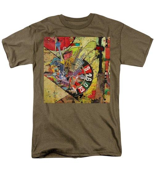 Las Vegas Collage Men's T-Shirt  (Regular Fit) by Corporate Art Task Force
