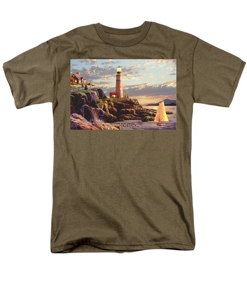 Last Light  Men's T-Shirt  (Regular Fit) by Ron Chambers